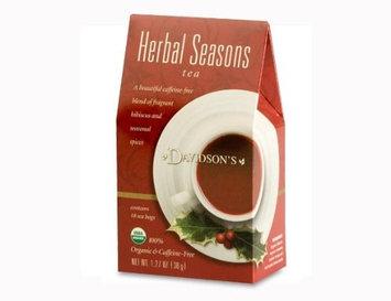 Davidson's Tea Davidson Organic Tea 2088 Holiday Trad Herbal Seasons Tea 18 Ct.