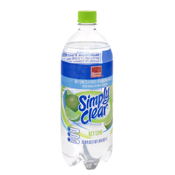 Harris Teeter Simply Clear Sparkling Water Key Lime