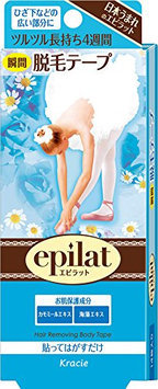 KRACIE Epilat Hair Removal Tape 14sheets