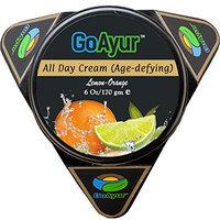 GoAyur Lemon Orange Ayurvedic Age Defying All Day Cream Herbal Anti-Aging & Natural Anti-Wrinkles All Day Cream