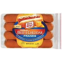 Oscar Mayer Premium Beef & Cheddar Hot Dogs, 16 oz