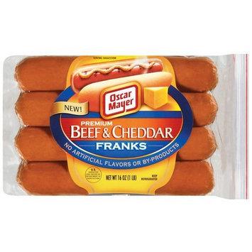 Oscar Mayer Premium Beef & Cheddar Hot Dogs