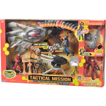 The Corps Tactical Mission Set with Plane Ages 3 +, 1 ea