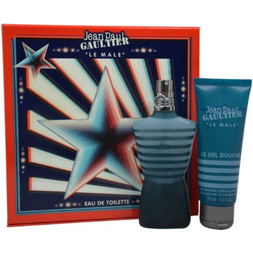 Jean Paul Gaultier Le Male Gift Set for Men (Eau De Toilette Spray and All-Over Shower Gel)