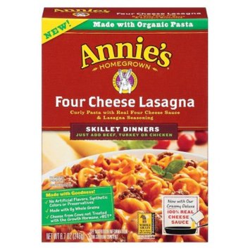Annie's Homegrown Four Cheese Lasagna Skillet Dinner 8.7 oz