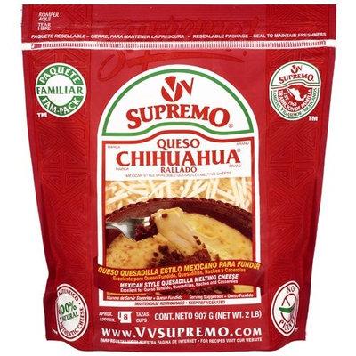 Supremo Queso Chihuahua Rallado, 2 lb