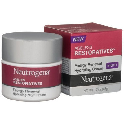 Neutrogena Ageless Restoratives Energy Renewal Hydrating Night Cream, 1.7 Ounce