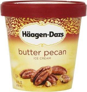 Häagen-Dazs Ice Cream Butter Pecan