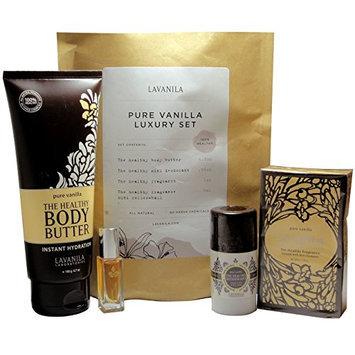 Lavanila Women's Pure Vanilla Luxury Gift Set