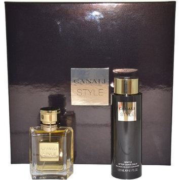 Canali Style by Canali for Men Gift Set 1.7 Ounce EDT Spray