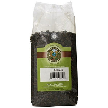 San Francisco Bay Coffee San Franscisco Bay Coffee Fog Chaser Whole Bean, 2-pounds