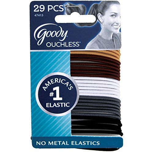 Goody Ouchless Braided Elastics