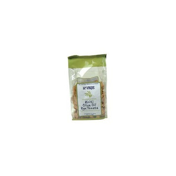 Mt Vikos Mt. Vikos Toast Rye Kriti Olive Oil 6 oz. (Pack of 12)