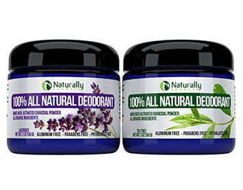 Naturally Sourced Natural Deodorant