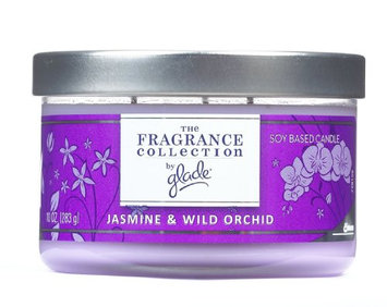 Glade Soy Candle Jasmine Wild Orchid Scent