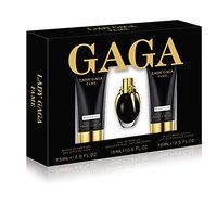 Lady GaGa Fame 3 Piece Gift Set (0.5 Ounce Eau De Parfum Plus 2.5 Ounce Body Lotion Plus 2.5 Ounce Shower Gel)