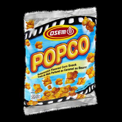 Osem Popco Butterscotch Flavored Corn Snack
