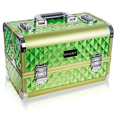 SHANY Premier Fantasy Collection Makeup Artists Cosmetics Train Case