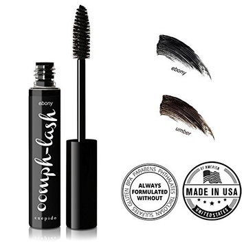 CUEPIDO Oomph-lash Long Wearing Waterproof Mascara (BLACK) - Ebony 0.2oz/5.7g