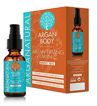 Arganatural argan firming vitamin c body oil