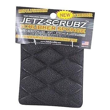 Harold Import Company, Inc. JetzScrubz Magic Scrubber Sponge, Rectangle