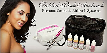 Tickled Pink Airbrush Kit with Medium Shades Makeup