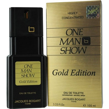 Jacques Bogart One Man Show Eau De Toilette Spray (Gold Edition) for Men