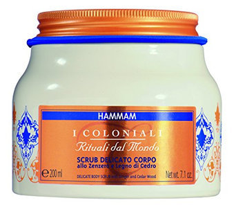 I Coloniali Delicate Body Scrub with Ginger and Cedar Wood