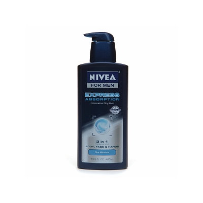 Nivea for Men Express Absorption 3 in 1 Moisturizer Body