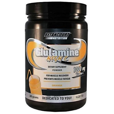 Betancourt Nutrition Glutamine, High C Orange, 60 Servings