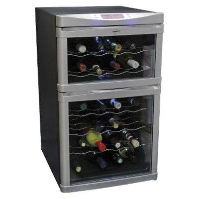koolatron Koolatron Dual Zone Wine Cooler - Black