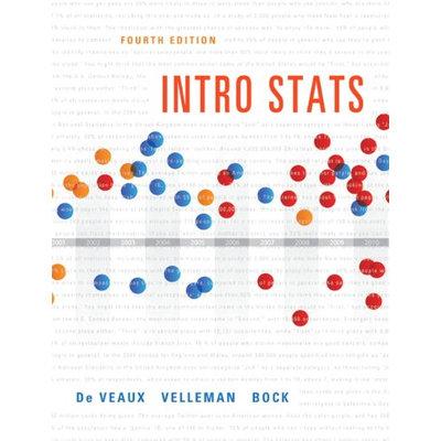 Intro Stats, by De Veaux, 4th Edition