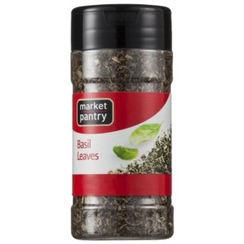 Market Pantry Basil Leaves - 0.62 oz.