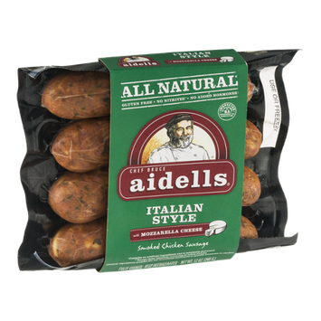 Aidells® Smoked Chicken Sausage Italian Style with Mozzarella Cheese