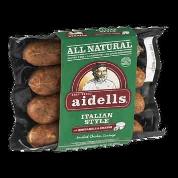 Aidells® Smoked Chicken Sausage Italian Style with Mozzarella Cheese