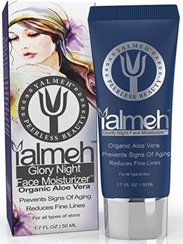 YALMEH Aloe Vera Glorify Night Face Moisturizer - Anti aging face cream For Sensitive Skin