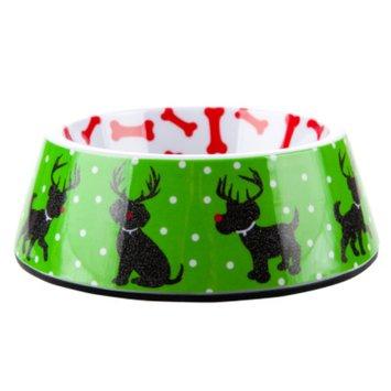 Top PawA Pet HolidayTM Reindeer Dog Bowl