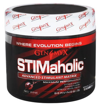 Genomyx Stimaholic Red Wine - 35 Servings
