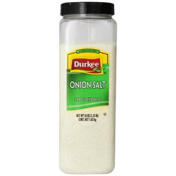 Durkee Onion Salt, 36-Ounce (Pack of 6)