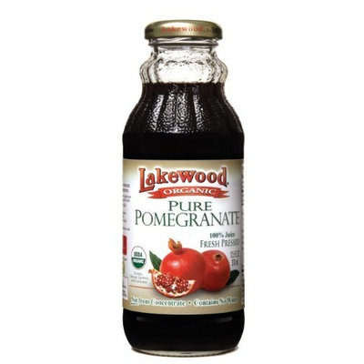 Lakewood Organic PURE Pomegranate Juice, 12.5-Ounce Bottles (Pack of 12)