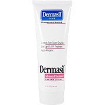 Advanced Treatment Creamy Lotion - Dry Skin Moistuizer & Protectant, 8 oz,(Dermasil Labs)