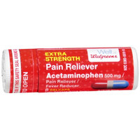 Walgreens Extra Strength Pain Reliever, 8 ea