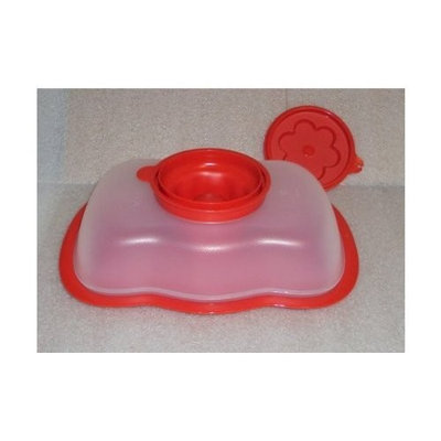 Tupperware Jello Holiday Jel Mold Limited Edition 6 Cup RED