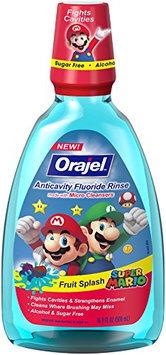 Orajel Super Mario Anticavity Fluoride Rinse