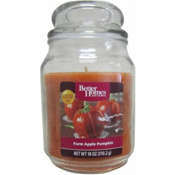 Better Homes and Gardens 18 oz Candle, Farm Apple Pumpkin