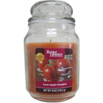 Better Homes and Gardens 18 oz Candle, Farm Apple Pumpkin
