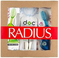 RADIUS Toothbrush with Travel Case and the DOC Toothbrush/Razor Holder Gift Set