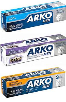 Arko Shaving Cream Variety Pack
