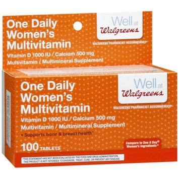 Walgreens One Daily Women Tablets