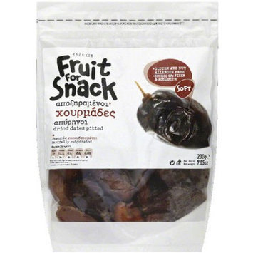 Sdoukos Fruit for Snack Pitted Dried Dates, 7.05 oz, (Pack of 12)
